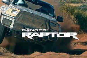 Ford Ranger Raptor sắp ra mắt sẽ có chế độ lái mới và động cơ diesel?