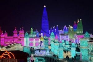 Lễ hội điêu khắc băng tuyết tại Cáp Nhĩ Tân