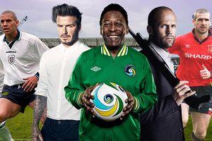 Bạn sẽ không ngờ Jason Statham từng là cầu thủ, huyền thoại Pele - David Beckham đóng phim