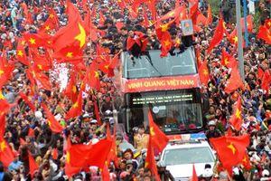Trực tiếp lễ đón U23 Việt Nam về nước: Không khí sôi động chưa từng có