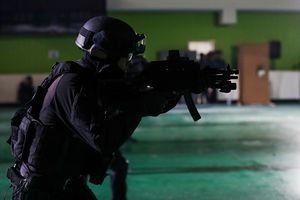 Đặc nhiệm Hàn trang bị 'tận răng', sẵn sàng bảo vệ Olympics