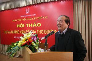 Ngày thơ Việt Nam lần thứ 16: Thơ nhạt vì quá nhiều tình riêng
