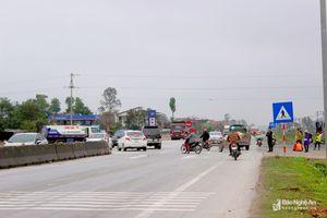 Ngã tư 'tử thần' trên Quốc lộ 1A ở Nghệ An
