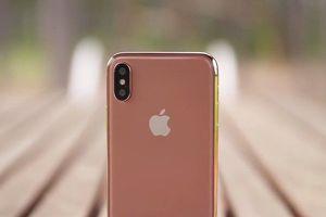 Tin đồn: iPhone X sắp có thêm màu vàng đồng Blush Gold
