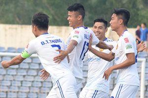 Tiến Dũng thủng lưới ở V.League, CLB Thanh Hóa thua đội Quảng Nam 0-1