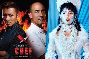 Tạ Đình Phong thi nấu ăn, quán quân Next Top châu Á Maureen làm giám khảo