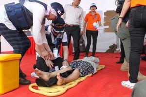 Nhật Bản và ASEAN diễn tập ứng phó y tế khi xảy ra siêu bão