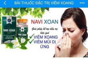 TPCN Navi Xoan: Công ty Mộc Hoa Đường có dấu hiệu quảng cáo sai phép?
