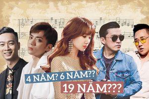 Đây là những bài hát được sao Việt 'ủ suýt thì lên men' mới chịu ra mắt