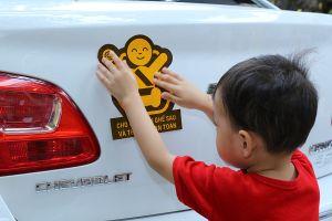 Chevrolet chung tay vì sự an toàn của trẻ nhỏ khi tham gia giao thông