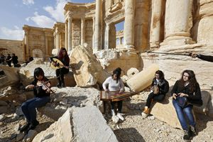 Syria trước khi trở thành điểm nóng