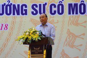 Thủ tướng Nguyễn Xuân Phúc: Môi trường là một trụ cột trong tam giác phát triển