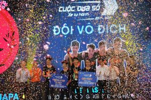Đại học Công nghệ giành ngôi Vô địch cuộc thi Cuộc đua số mùa thứ hai