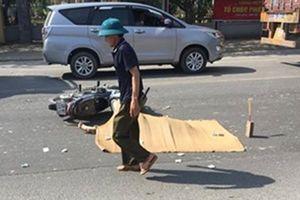 Tai nạn thương tâm: Nữ sinh cấp 3 bị xe container cán tử vong