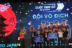 Đường đến ngôi Vô địch Cuộc đua số 2017-2018 của 4 nam sinh Đại học Công nghệ
