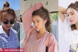 Thoát nóng ngày hè với những kiểu tóc vừa xinh vừa mát