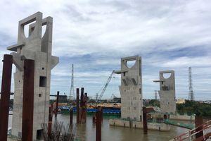 Cận cảnh công trình chống ngập 10.000 tỉ ở TP.HCM 'bất động' vì thiếu vốn