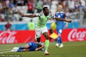 Hạ gục Iceland, Nigeria giành quyền tự quyết tại bảng D