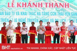 Khánh thành Dự án hạ tầng cụm công nghiệp Thái Yên