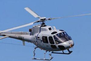Cà Mau thuê trực thăng bay khảo sát sạt lở bờ biển