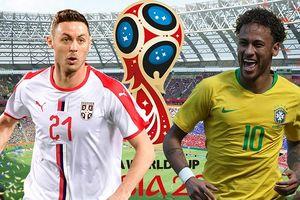 Lịch thi đấu World Cup 2018 hôm nay (27/6): Brazil, Đức ra trận