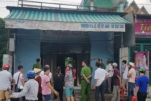 Cửa hàng quần áo ở Biên Hòa bị đốt trong đêm