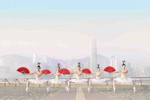 Hong Kong ấn tượng qua bộ ảnh nghệ sĩ múa ba lê ở các điểm du lịch nổi tiếng