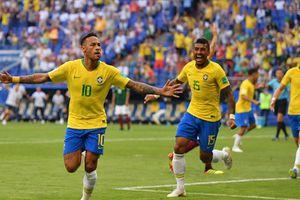 Đẳng cấp lên tiếng, Neymar giúp Brazil đánh bại Mexico 2-0