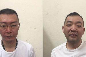 Bắt 2 đối tượng nước ngoài bị truy nã tội Bắt giữ người trái phép
