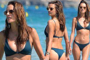 Alessandra Ambrosio cuốn hút mê hồn ở bãi biển thiên đường