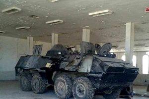 SAA thu giữ một số xe bọc thép của phiến quân ở nam Daraa