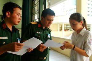 Điểm chuẩn của các trường quân đội năm 2018 có thể giảm?