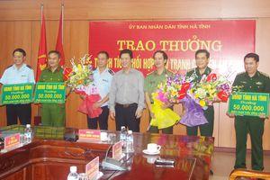 Lãnh đạo tỉnh Hà Tĩnh khen thưởng Ban Chuyên án 478LV