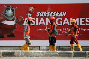 95% cơ sở hạ tầng phục vụ ASIAD 2018 của Indonesia đã sẵn sàng