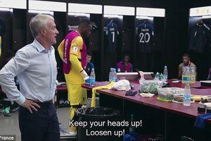 Cực hiếm: Lộ clip HLV Deschamps yêu cầu tuyển Pháp chuyền bóng cho Mbappe để giành cúp vô địch World Cup