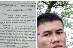 Truy nã cựu tuyển thủ U23 Việt Nam liên quan vụ cướp giật