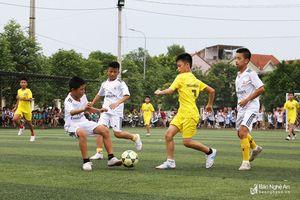 350 VĐV tham dự giải bóng đá thiếu niên truyền thống TP Vinh lần thứ 37