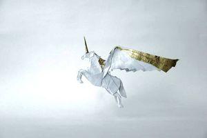 Thế giới thần tiên trong triển lãm Origami 'Những đôi cánh'