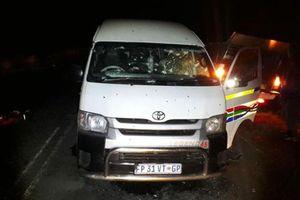 11 tài xế taxi Nam Phi bị bắn chết sau khi dự đám tang đồng nghiệp