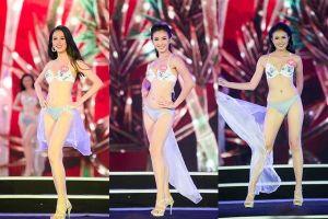 Ngắm trọn vẹn phần thi bikini của thí sinh Hoa hậu Việt Nam 2018