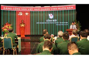 Ra mắt Liên Chi hội Nhà báo Trung tâm PT-TH Quân đội