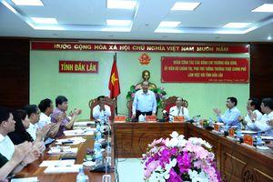 Phó Thủ tướng Trương Hòa Bình làm việc tại Đắk Lắk về di dân tự do