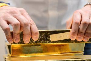 Giá vàng giảm không ngừng