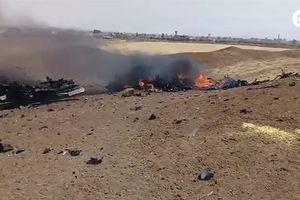 IS công bố ảnh hiện trường Su-22 Syria bị bắn rơi