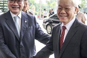 Nhiều lãnh đạo Đảng, Nhà nước dự lễ kỷ niệm 10 năm Hà Nội mở rộng