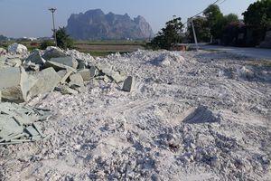 Đông Hưng, Thanh Hóa: Làng nghề đá gây ô nhiễm