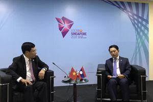 Việt Nam – Lào: Cùng nỗ lực làm sâu sắc hơn tiến trình hợp tác của Cộng đồng ASEAN