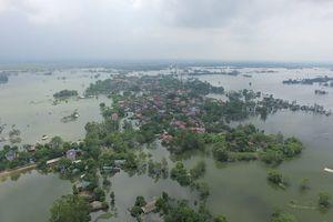 Tin lũ khẩn cấp trên sông Bùi, Hà Nội
