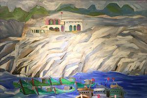 Thưởng lãm tác phẩm hội họa và điêu khắc của các nghệ sĩ thành phố Hoa Phượng đỏ