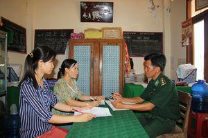 Hội Phụ nữ xã Phú Tân và đồn Biên phòng thực hiện hiệu quả nhiều chương trình phối hợp